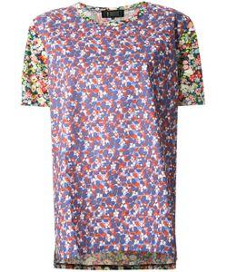 ANREALAGE   Print Shortsleeved T-Shirt