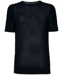 Diesel Black Gold | Ladder Stitch Rib Knit Top