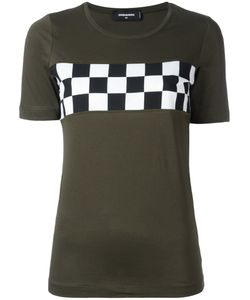 Dsquared2 | Checkerboard Chest Detail T-Shirt Size Xs