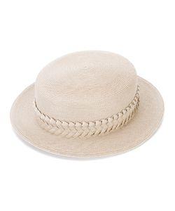 GIGI BURRIS MILLINERY | Шляпа С Окантовкой В Виде Плетения