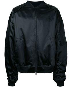 JUUN.J | Slogan Back Bomber Jacket Size 48 Cotton/Acetate/Polyester