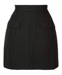 Vera Wang | Tailo Mini Skirt 0 Cotton/Nylon/Wool