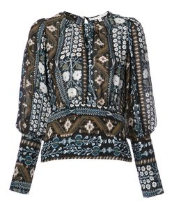 Veronica Beard | Patterned Blouse Women 8