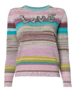 Marc Jacobs | Striped Love Jumper Large