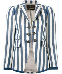 Roberto Cavalli | Striped Blazer 40