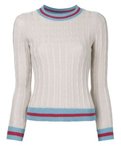LOVELESS | Cable Knit Jumper 34 Cotton/Rayon