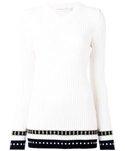 Victoria Beckham | Ribbed Long Sleeve Top