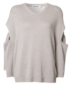 Jil Sander | Cut-Off Detailing Jumper 36 Cotton