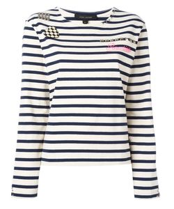 Marc Jacobs | Breton Stripe T-Shirt Small Cotton