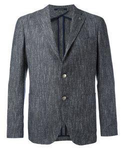 Tagliatore | Monte Carlo Button Blazer Size 50