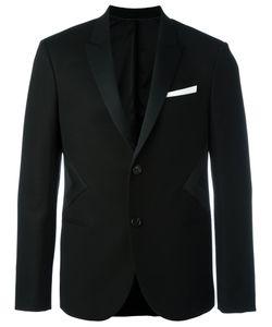 Neil Barrett | Geometric Insert Blazer 48 Cotton/Polyamide/Acetate/Polyester