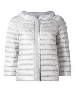 Herno | Zipped Puffer Jacket 40 Cotton/Polyamide/Feather Down