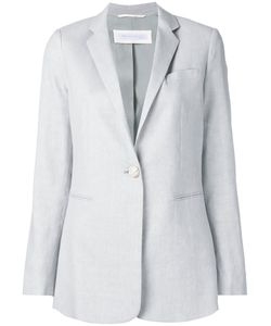 Fabiana Filippi | Button Up Blazer 42 Cotton/Linen/Flax/Spandex/Elastane/Viscose