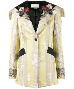 Gucci   Applique Jacquard Jacket