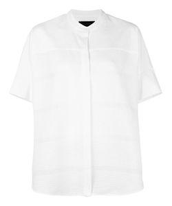 Piazza Sempione | Shortsleeved Shirt 44 Cotton/Polyamide/Spandex/Elastane