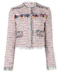 MSGM | Tweed Jacket 42 Cotton/Polyamide/Acrylic/Polyester