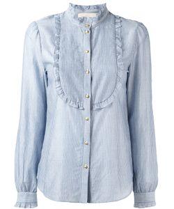 Vanessa Bruno | Striped Bib Shirt Size 36
