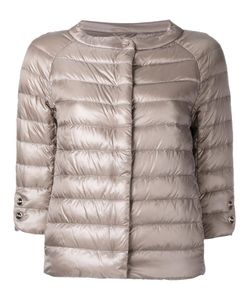Herno | Three-Quarters Sleeve Puffer Jacket 46 Polyamide/Acetate/Feather