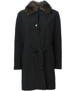 Liska | Пальто С Меховым Воротником
