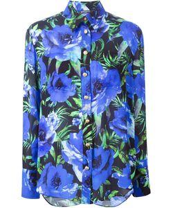 Balmain | Рубашка С Цветочным Принтом