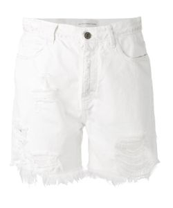 Faith Connexion | Frayed Denim Shorts