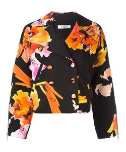 Lanvin | Print Blazer 36 Spandex/Elastane/Viscose/Polyester/Acetate