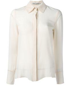 Alice + Olivia | Classic Long Sleeve Shirt Size Large
