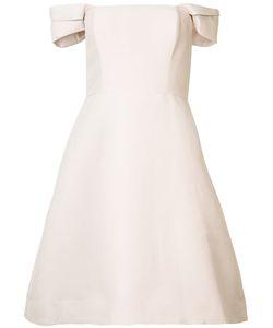 Halston Heritage | Приталенное Платье С Открытыми Плечами