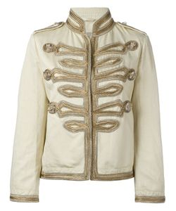Ermanno Scervino | High Neck Boxy Jacket
