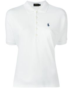 Polo Ralph Lauren | Lyocell Polo Shirt Medium Cotton/Lyocell