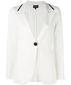 Giorgio Armani | Polo Collar Blazer 42 Polyamide/Spandex/Elastane/Viscose/Virgin Wool