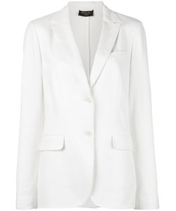 Loro Piana | Two Button Blazer 40 Silk/Cotton/Spandex/Elastane