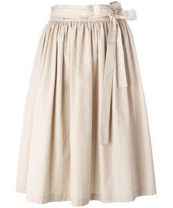 Aspesi | Pleated Skirt 42 Cotton