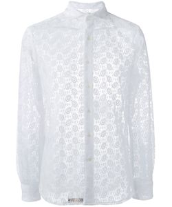 GABRIELE PASINI | Lace Detail Shirt Size 39