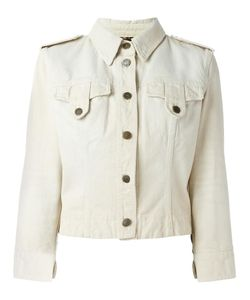 Dolce & Gabbana | Vintage Military-Style Denim Jacket 44