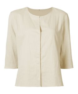 PETER COHEN | Collarless Shirt Size Small