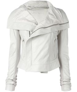 Rick Owens | Leather Jacket 44 Leather/Cupro/Viscose