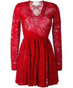 Zuhair Murad | Lace Fla Dress 38 Viscose/Spandex/Elastane
