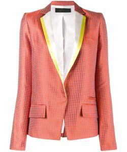 Haider Ackermann | Jacquard Blazer 34 Silk/Cotton/Rayon