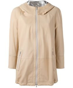 Brunello Cucinelli | High Shine Trim Hooded Jacket