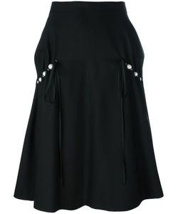 Comme Des Garçons Noir Kei Ninomiya | Pearled Trim Skirt