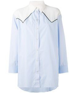 8pm | Contrast Striped Shirt S