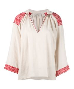 Mes Demoiselles | Embroidered Blouse 38