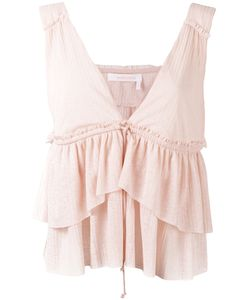 See By Chloe | See By Chloé Layered Ruffle Blouse Size Small