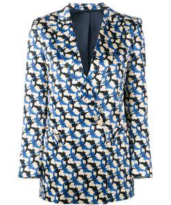 BLAZÉ MILANO | Patterned Blazer Size