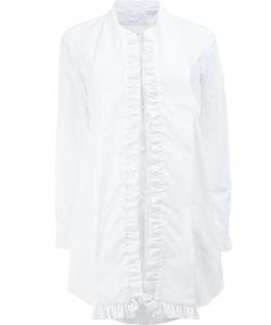 Comme Des Garcons | Comme Des Garçons Ruffled Trim Shirt Medium Cotton