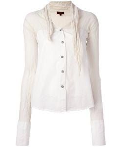ROMEO GIGLI VINTAGE   Crinkled Neckline Shirt 42