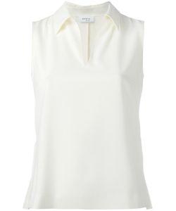 Akris Punto | Classic Collar Tank Top 36 Polyester/Polyurethane