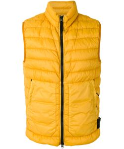Stone Island | Padded Shell Vest Size Medium Polyamide/Polyurethane Resin/Duck