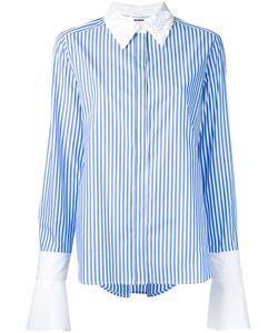 Muveil | Embellished Collar Shirt